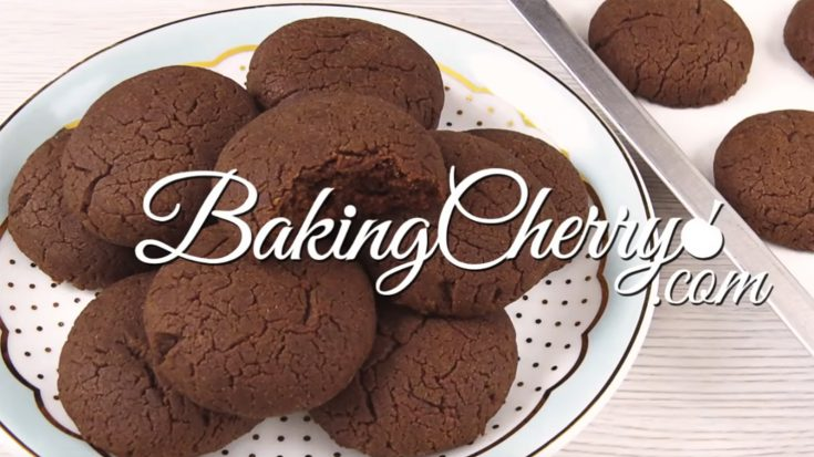 3 INGREDIENT NUTELLA COOKIES | Easy Recipe | Baking Cherry