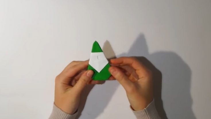 Christmas Origami Santa Claus